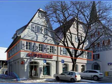 Großzügige helle Praxis- oder Büro Etage im Ortskern von Enzweihingen
