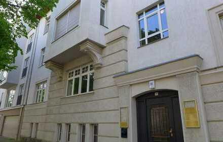repräsentatives Büro / Praxis 6 Zimmer + Empfang Parkplätze / Springerstraße Ecke Gohliser Straße