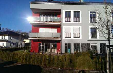 Exklusive Wohnung im Kronenhof mit Kaminofen und Balkon, Neubau