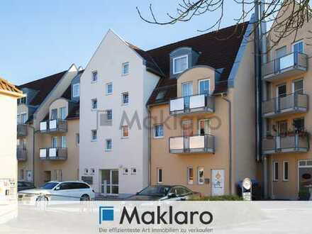 +++ Sonniges Mansarden-Investment an der Mindel +++ 2-Zimmer-Eigentumswohnung mit Balkon