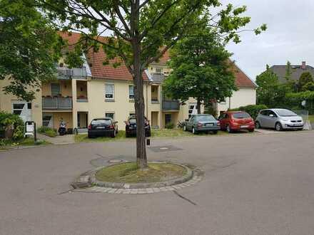 Ansprechende 2-Zimmer-Terrassenwohnung mit Balkon im Kreis Meißen Niederau