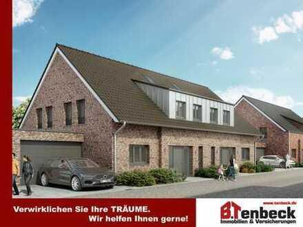 +++(DHH-Nr. 6) Erstbezug, Terrasse - Garage - Doppelhaushälfte in Bocholt-Stenern! Variante 2!+++
