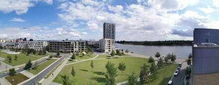 Penthouse-Wohnung mit Fahrstuhlzugang und Blick auf die Weser und dem Überseepark!
