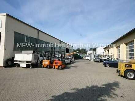 Königs Wusterhausen - Nur 15 Min. vom neuen BER entfernt - Werkstatt, Halle, Büro, alles auf 4000 m²
