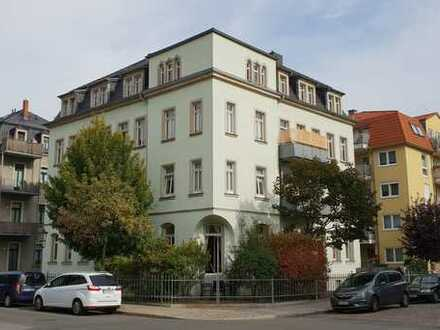 Investment in Dresden-Löbtau / vermietete 2-Zimmer-Wohnung im sanierten Altbau
