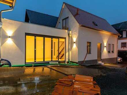Historisches Wohnen in neu aufgebautem Haus
