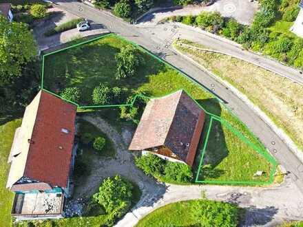 Sasbachwalden: Baugrundstück in Hanglage für ein Einfamilienwohnhaus