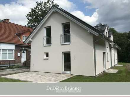 ERSTBEZUG nach KfW 40+ Standard - Naturnah gelegene Doppelhaushälfte mit sonnigem Südwestgarten