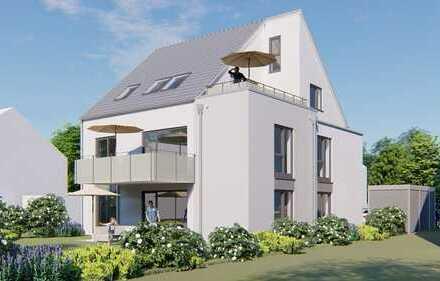 Drei Fam. Haus mit Souterainwhg.+ Spitzboden + Südbalkone/Terrasse