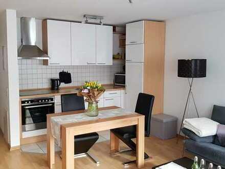 Helle, gepflegte 2-Zimmer-Wohnung mit Balkon und Einbauküche in Filderstadt-Bonlanden