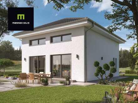 Ihre Traumvilla - jetzt mit massahaus bauen & KfW 55 & Baukindergeld nutzen !