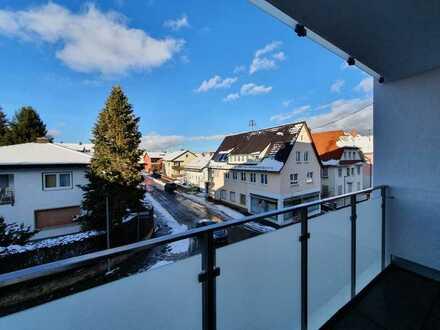 Neubau *** 1-Zimmer-Apartment möbliert mit Balkon * Zentrumsnah in VS-Schwenningen
