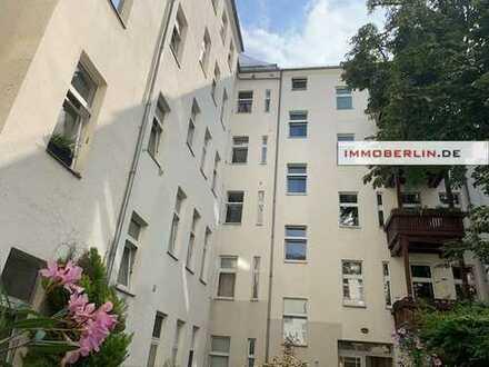 IMMOBERLIN: Helle vermietete Altbauwohnung in exzellenter Stadtlage