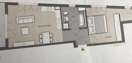 Erstbezug 2-Zimmer-Etagenwohnung mit Balkon in Aubing S-Bahn Nähe