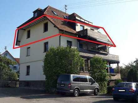 4,5-Zimmer-DG-Wohnung mit traumhafter Aussichtslage