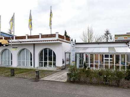 HOCKENHEIM-TALHAUS: Gewerbeanwesen mit Wohnhaus und tollem Entwicklungspotential