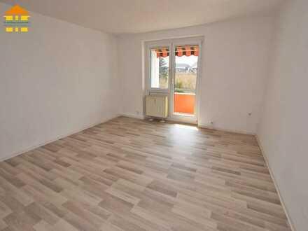 Vermietete 3-Raum-Wohnung mit Balkon und Tageslichtbad zur Kapitalanlage!
