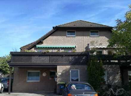 gepflegte, großzügige 4-Zimmer-Wohnung über 2 Etagen mit Balkon und EBK in Nordkirchen