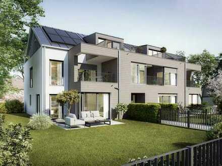 Neubau einer schicken 3-Zimmer-Wohnung, sehr hell mit Südausrichtung in Trudering