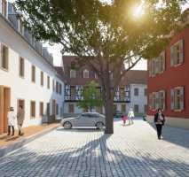 Exklusive 3-Zimmer-Maisonettewohnung in historischem Ensemble mit EBK, Aufzug, Klimatisierung