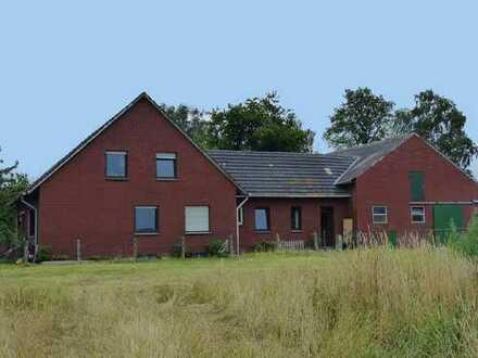 Leben auf dem Lande! Geräumiges Zweifamilienhaus im Außenbereich von Ahaus