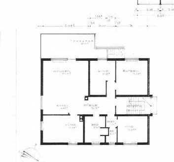 4,5-Zimmer-Erdgeschosswohnung mit Terrasse und Garten