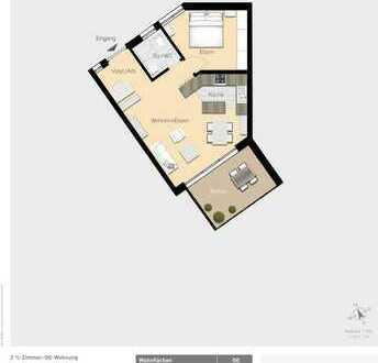 Hübsche 2,5-Zimmer Wohnung W09