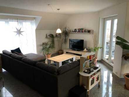 Nachmieter für Attraktive helle 4-Zimmer-Maisonette-Wohnung mit Balkon und EBK in Langenau