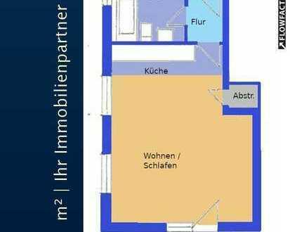 KLEINE FEINE 1 Raumwohnung in Leuben mit Balkon