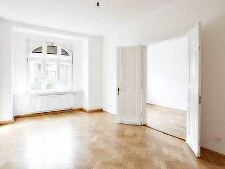Bel Etage - 4 Zimmer-Stuck-Altbau - renovierungsbedürftig - Blick auf Landwehrkanal