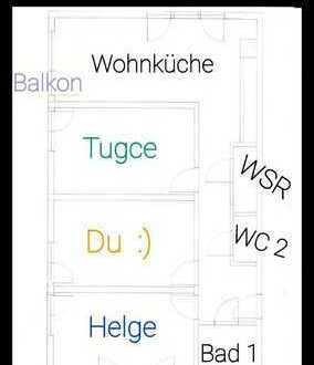 WG - Heimathafen Walle - 15qm Zimmer