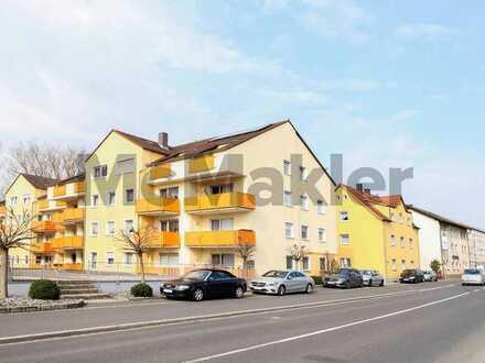 Naturnah zwischen Nürnberg und Regensburg: Großzügige 3-Zi.-ETW mit sonniger Dachloggia in Amberg