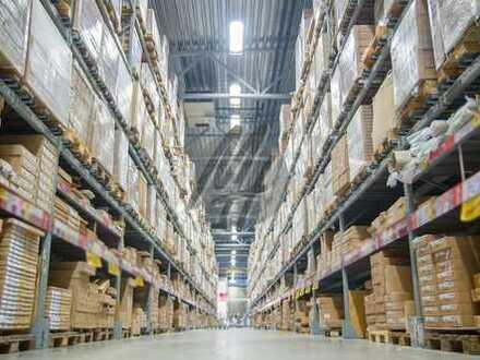 RAMPE + EBEN ✓ NÄHE BAB ✓ Moderne Lager-/Logistikflächen (10.000 m²/erweiterbar) zu vermieten