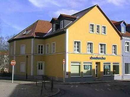 Angermünde, Altstadt: sonnendurchflutete 3-Zimmerwohnung, Gartennutzung inklusive