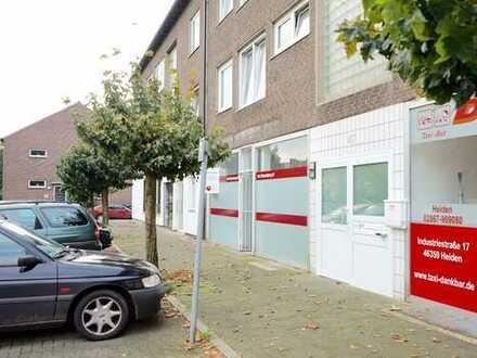 100 qm Ladenlokal + Nebenflächen mit Schaufensterfront & Stellplätzen in Dorsten-Rhade zu mieten!