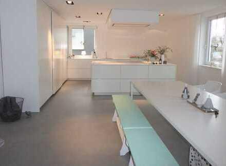 Exklusive 3 Zimmerwohnung in gepflegter Industrielage- wohnen und arbeiten wunderbar vereinbar!