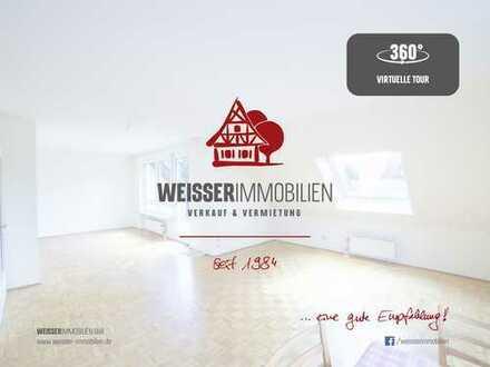 Helle 2,5-Zimmer-Maisonettewhg (Umbau zu 3,5 Zimmer möglich) mit Balkon + TG-Stellplatz