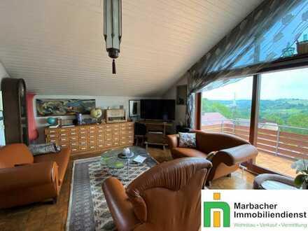 Exklusive Dachgeschoss-Wohnung mit traumhaftem Ausblick und toller Ausstattung
