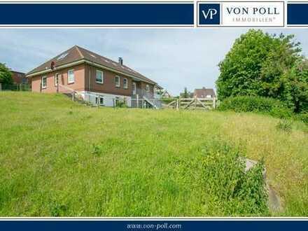 VON POLL Panker: Zweifamilienhaus mit Bauplatz & Weideland & Ostseenähe