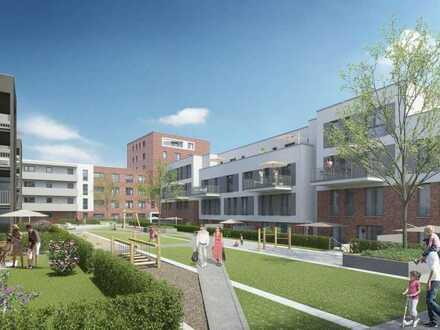 Wunderschöne 4-Zi-Wohnung mit überdachter Terrasse und kleinem Gärtchen