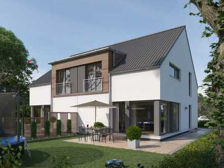 Traumhaus - Doppelhaus Hälfte in sonniger Lage