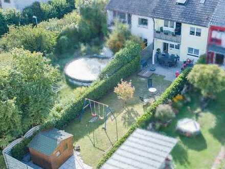 RMH in Freiburg mit 180m² großem Garten
