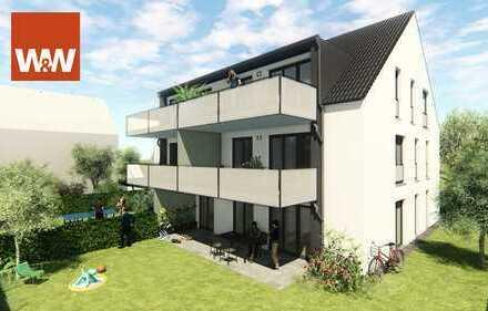 NEUBAU * PROVISIONSFREI * moderne und stilvolle 3-Zimmer-Wohnung mit großem Balkon