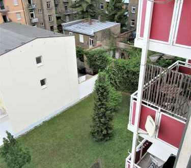 **Helle, gut geschnittene 3 ZKB + Wohnküche + Balkon in Neckarstadt-Ost/Wohlgelegen**