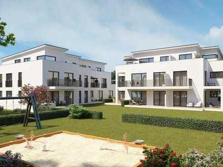Altengerechte Neubau - Komfortwohnung - Baubeginn bereits erfolgt - 66 m² 2 ZKDB + Balkon