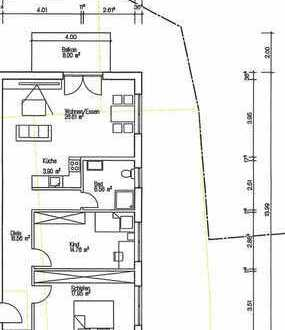 Nr 4. Erstbezug ! Sonnige 3-Zimmer-Wohnung in einem 6 Familienhaus