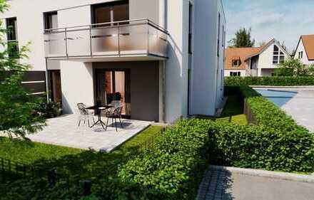 Familienglück: 3-Zi-EG-Gartenwohnung plus Hobbykeller in Forcheimer Bestlage - Nähe Kellerwald