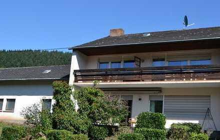 Freistehendes 1-2 Familienhaus in ruhiger Lage mit Moselblick im gemütlichen Weindorf Burg/Mosel
