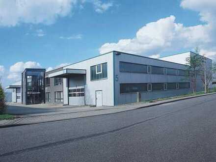 Moderne top gepflegte Gewerbehalle mit Büro und Außenflächen direkt vom Eigentümer zu verkaufen!