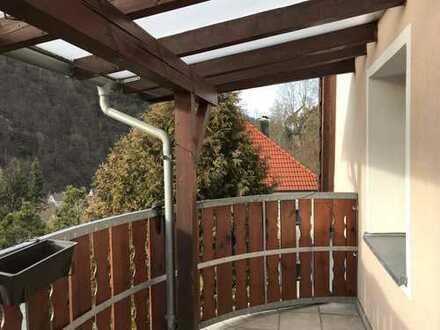 Schön geschnittene 2-Zimmer-Wohnung mit Fernblick, hell, sonnig, ruhig